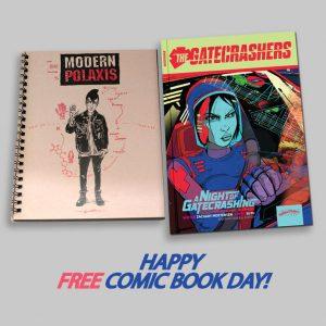 The Gatecrashers Book One and Modern Polaxis FCBD Bundle